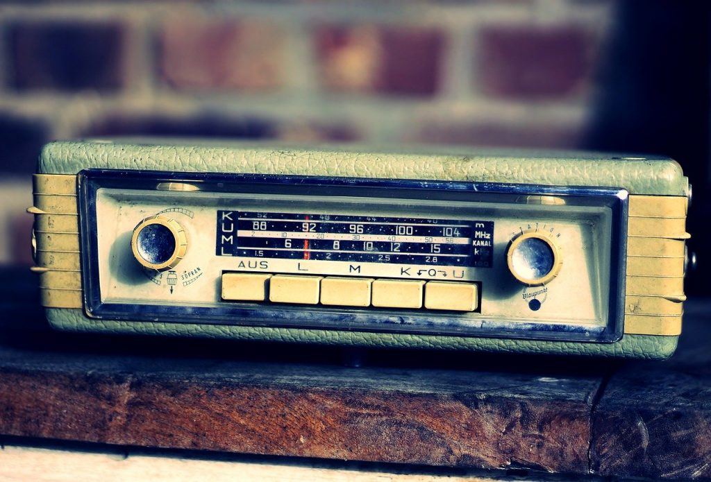 autoradio, retro, generations